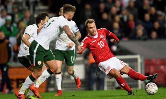 Nhận định CH Ireland vs Đan Mạch 02h45, 15/11 (Lượt về PLAY OFF - World Cup 2018)