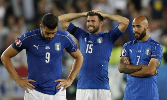 ĐT Italia thiết lập kỷ lục buồn sau loạt đấu súng cùng người Đức