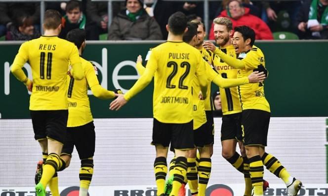 CHÙM ẢNH: Dortmund nhọc nhằn giành 3 điểm trên sân của Bremen