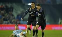Soi kèo tài xỉu Celta Vigo vs Real Madrid, 2h45 ngày 8/1 (Vòng 18 La Liga 2017-18)