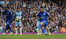 Hạ Leicester 'nhờ Mahrez', Man City chiếm vị trí thứ 3 của Liverpool