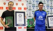 Cech và sao Everton được ghi tên vào sách kỷ lục Guinness