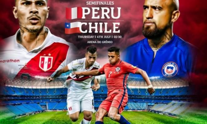 Nhận định bóng đá bán kết Copa America, Chile - Peru: Nhà vua hẹn đấu Brazil chung kết