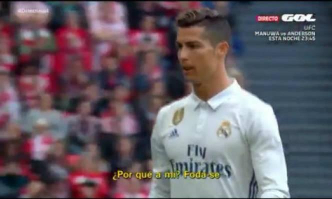Ronaldo tức tối chửi thề sau khi bị thay ra
