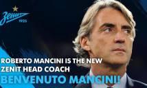 Từ chối Inter, Mancini 'bén duyên' cùng Zenit