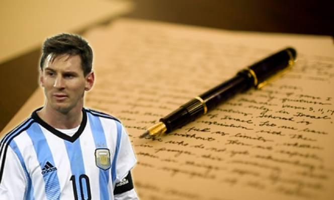 Tâm thư về Messi lấy đi nước mắt của nhiều người