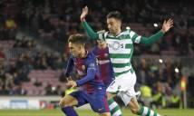 Messi dự bị, Barcelona vượt ải Sporting Lisbon đầy khó nhọc