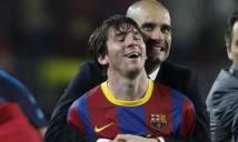 Argentina mời Pep Guardiola về dẫn dắt Messi