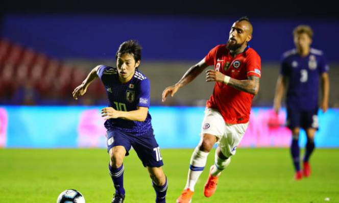 Copa America 2019: Chile hạ sát Samurai Xanh