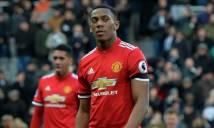 Tại sao Martial vắng mặt ở trận MU ngược dòng thắng Palace?