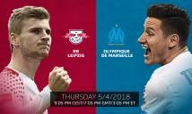 Nhận định RB Leipzig vs Marseille, 02h05 ngày 6/4 (Lượt đi tứ kết Europa League)