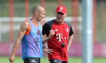 Ancelotti sẽ tiếp tục tin dùng Robben?