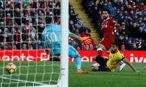 Kết quả Liverpool - Watford: Poker siêu đẳng, hủy diệt 5 trái