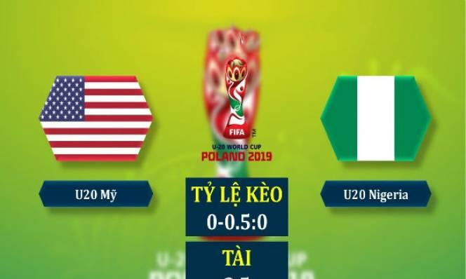 Nhận định U20 Mỹ vs U20 Nigeria, 01h30 ngày 28/05: Sức mạnh đại bàng xanh