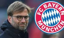 Bayern Munich tính gây bất ngờ với... Klopp