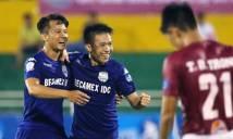 Hạ tân binh Nam Định, B.Bình Dương tạm 'lên đỉnh' V-League 2018