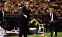 Zidane nói gì sau thất bại tại Mestalla?
