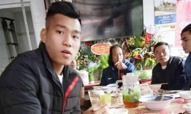 Quang Hải, Văn Thanh đoàn tụ cùng gia đình đón Tết Nguyên đán
