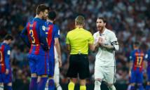 Hậu El Clasico: Pique lại châm ngòi 'khẩu chiến' với Ramos