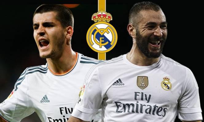 ''Morata không có cửa cạnh tranh với Benzema''