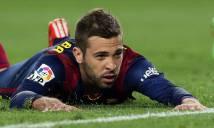 Barcelona lên tiếng về tương lai của Jordi Alba