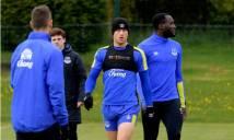 CHÙM ẢNH: Everton chuẩn bị cho màn 'phục thù' Chelsea