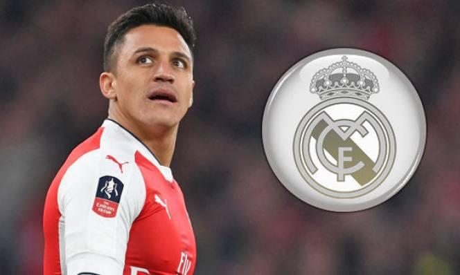Sanchez đồng ý đến Real với 2 điều kiện