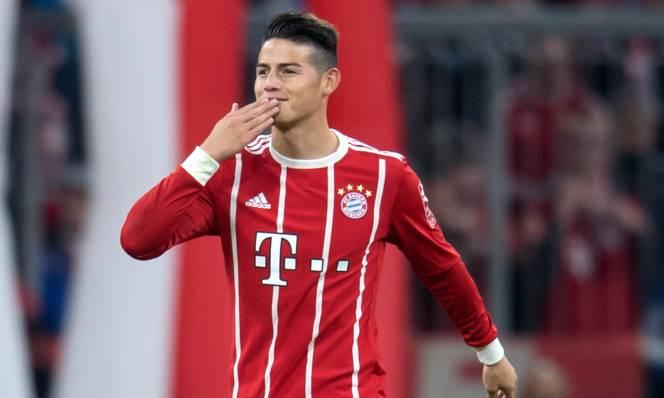 Vì Bayern, James