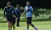 Suarez tiếp tục vắng mặt ở trận gặp Venezuela