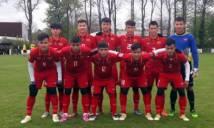 U20 Việt Nam thắng đậm đội bóng của Hà Lan