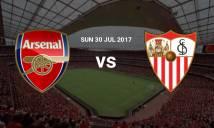 Nhận định Arsenal vs Sevilla 22h20, 30/07 (Emirates Cup)