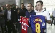 Lộ diện bến đỗ mới của Andres Iniesta: không phải Trung Quốc