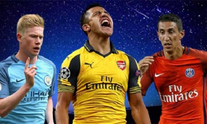 Bộ đôi Arsenal lọt top 10 cầu thủ kiến tạo hay nhất nửa đầu mùa 2016/2017