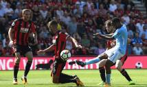 Man City tạm vươn lên ngôi đầu bảng Ngoại hạng Anh nhờ trọng tài