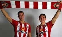 Sunderland chính thức sở hữu 2 sao trẻ MU