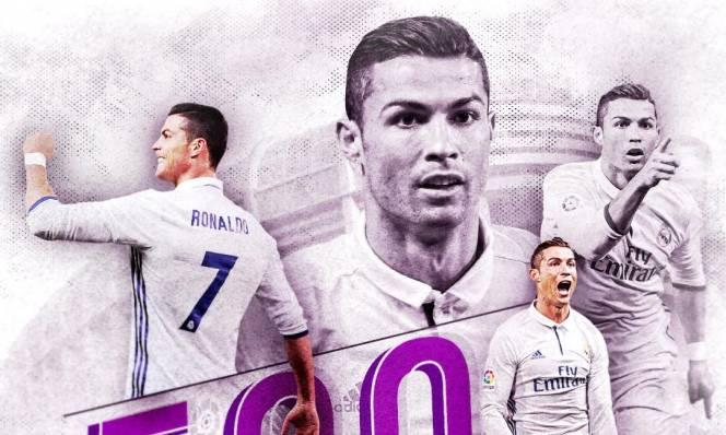 Ronaldo đạt mốc 500 bàn thắng