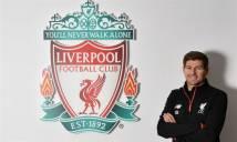 CHÙM ẢNH: Gerrard trở lại Liverpool làm 'Sếp'