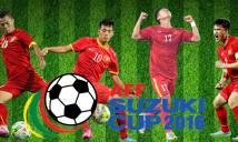 Hành trình của tuyển Việt Nam tại AFF Cup 2016 qua các con số
