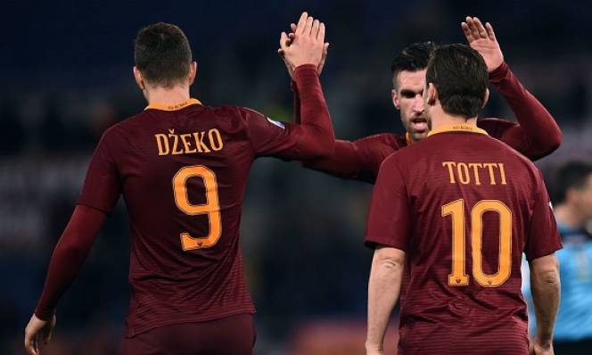 Dzeko lập cú đúp, Roma đè bẹp Fio để tái chiếm ngôi nhì bảng