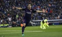 Suarez chấm dứt cơn khát ghi bàn, Barca giành lại ngôi đầu từ tay Real