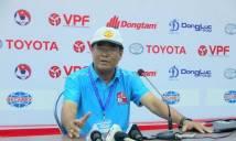 HLV Trần Bình Sự: 'HAGL cũng chỉ lẹt đẹt trụ hạng thôi'