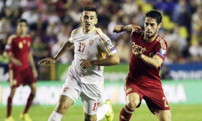 Tây Ban Nha vs Macedonia, 02h45 ngày 13/11: Dạo chơi trên sân nhà