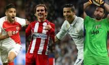 Tứ kết Champions League 2016/17: Tạm biệt người Đức và Anh