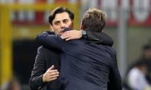 Sau vòng 13 Serie A: Nhìn người anh em, Montella có thấy 'thẹn'