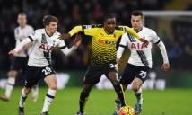 Watford vs Tottenham, 20h30 ngày 01/01: Ăn tết xa nhà