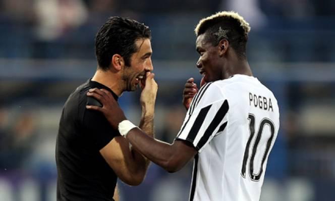 Juventus muốn tái hợp 2 tình cũ Buffon lẫn Pogba