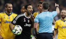 Fan MU: Buffon bị thẻ đỏ đầu tiên ở Champions League vì...