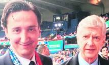 Hi hữu: Wenger nhận nhầm bác sĩ ĐT Croatia là HLV Emery