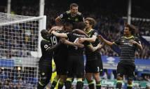 Nghiền nát Everton, Chelsea thênh thang trên con đường đến ngôi vương