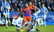 Chấm điểm Man City sau trận hòa với Huddersfield: Nolito gây thất vọng